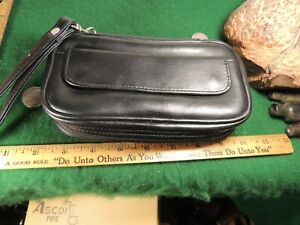 FREEBOY 2 HOLDING CARRYING PIPE BAG VERY NICE WITH ZIPPERED TOBACCO POUCH