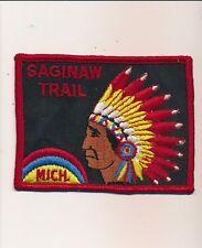 "SAGINAW TRAIL MICH. BOY SCOUT PATCH 4"""
