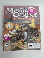 Magic Carpet Plus by Bullfrog - Vintage IBM BIG BOX PC GAME - BRAND NEW SEALED