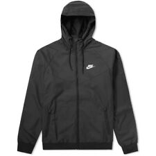 BNWT Medium Nike NSW Windrunner Black Hooded Jacket 727324-010