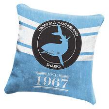 Cronulla Sharks NRL HERITAGE Cushion fabric Pillow Christmas Birthday Gift