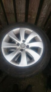 Citroen C4 Grand Picasso Alloy Wheel tyre 215 55 16