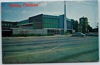 Oklahoma OK Bethany Nazarene Church & College Old Vintage Postcard B5
