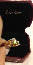 Love Ring    18 K Gold Plated New In Box S  10  Silver