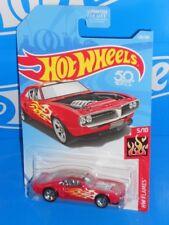 Hot Wheels 2018 HW Flames Series #128 Custom '67 Pontiac Firebird Red w/ 5SPs