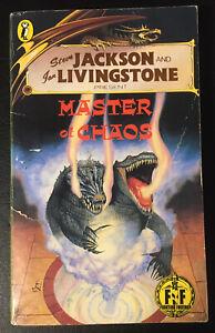 Master of Chaos Fighting Fantasy #41 1990 Keith Martin Bronze Dragon VG