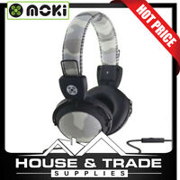 Moki Headphones In-Line 110dB Camo Grey ACC-HPCAMGY