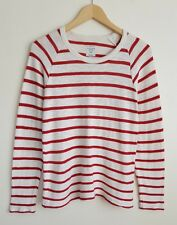 ZARA MAN NAUTICAL RED STRIPE COTTON TOP SIZE S
