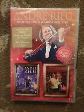 ANDRE RIEU CHRISTMAS AROUND THE WORLD / CHRISTMAS I LOVE DVD SEALED