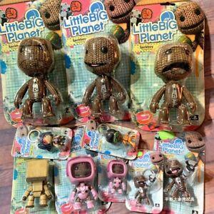 Little Big Planet Figure Sackboy Sackbot Console Kitty 3'' Toys 6'' Sackboy