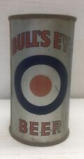New listing Bull's-Eye flat top beer can