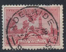 1936 AUSTRALIA CENTENARY of SOUTH AUSTRALIA 2d USED SG161