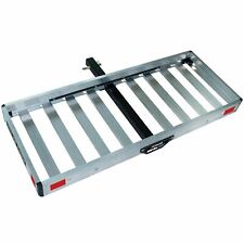"""TRICAM ACC-2F Folding ALUMINUM CARGO CARRIER For 2"""" Hitch"""