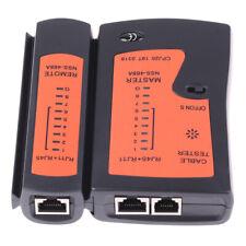 RJ45 Network Cable lan tester RJ45 RJ11 RJ12 CAT5 UTP LAN Cable Tester A_ju
