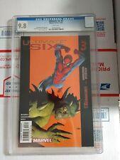 ULTIMATE SIX #3 (DEC 2003 MARVEL) CGC 9.8 NM/MT HIGH GRADE COMIC BOOK SPIDER-MAN