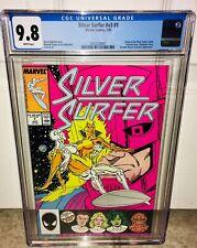 CGC 9.8 SILVER SURFER #1 (1987) GALACTUS COVER ORIGIN OF SILVER SURFER RETOLD