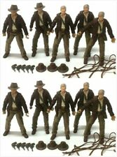 "10x INDIANA JONES RAIDERS OF LOST ARK 2007 hasbro Figure 3.75"" toys & accessory"