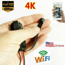 1080p 4K HD wireless network spy WIFI IP mini hidden Pinhole camera DVR recorder