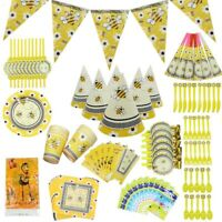 Baby Shower Butterfly Bee Birthday Party Supplies Loot Bag Filler Tableware Cup