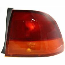 For Civic 96-98, Passenger Side, Outer Tail Light, Amber and Red Lens