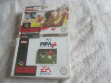 Fifa 96 & Player Manager / Football Boxed Bundle / Super Nintendo SNES / PAL