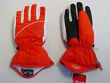 New Reusch Ski Gloves Womens Small Melua #2799105 Red SAMPLE