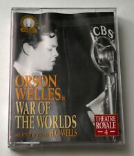 Orson Welles in War of The Worlds ao stories by H.G. Wells 2-cassettes audio