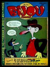 Bijou Publishing BIJOU FUNNIES #1 1st Print VG/FN 5.0 Adult Only