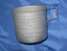 CALL OF DUTY Metal Tin Coffee Cup/Mug by Activision/Surreal Entertainment