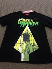 Justice League -Green Arrow - Tee Top - Size 8 New