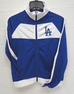 Los Angeles Dodgers Women's G-III 4her Punt Track Jacket 001