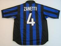 MAGLIA INTER ZANETTI 1998/1999 SHIRT INTER ZANETTI JERSEY INTER ZANETTI TG L
