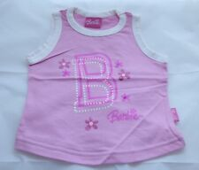 girls pink Barbie t shirt   - age 2-3 yrs - new without tags