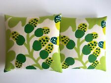 MARIMEKKO RARE 1960'S ORIG VTG SCANDINAVIAN MID CENTURY MODERN THROW PILLOWS
