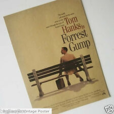 Forrest Gump Hollywood Classics Movie Poster Kraft Paper Poster Retro Collection
