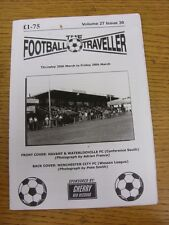 20/03/2014 The Football Traveller Magazine: Vol 27 Issue 30 (Cover Picture: Hava