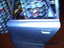 PORTA PORTIERA SX AUDI A4 DAL 2004 AL 2008 ORIGINALE POSTERIORE AVANT SW