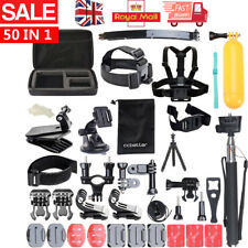 50 PCS For GoPro Hero 7 6 5 Accessories Kit Action Camera Mount Accessory Bundle