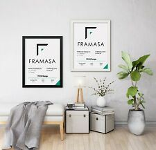 BLACK Picture Frame WHITE Photo Frame Square Poster Frame A1 A2 A3 A4 A5 Frames