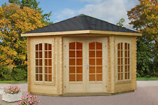 Palmako Gartenhaus Melanie 6,8 m² Holz Spitzdach Gerätehaus Blockhaus Laube