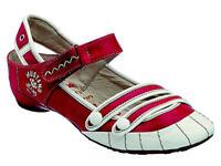 Mustang Sandalen Sandaletten Ballerinas Damenschuhe 820010 rot Neu21