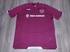 "Heart of Midlothian F.C. ""Hearts"" Scottish Professional Team Umbro Jersey Sz XXL"