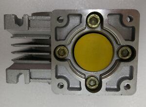 NMRV50 Worm gear reducer Reduction ratio 5:1 to 100:1 for NEMA42 stepping motor