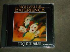 Nouvelle Expérience by Cirque Du Soleil (CD, Mar-1993, RCA) sealed