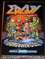 Edguy: Superheroes - Heroic Edition DVD 2005 Live Nuclear Blast USA NB1505-9 NEW