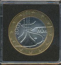 Finland 2003 5 Euro Ice Hockey Championship IIHF - UNC Bi-Metallic Capsule
