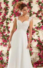 Morilee Lace Plus Size Wedding Dresses