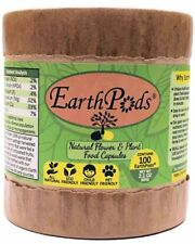 EarthPods® Indoor & Outdoor Organic Plant Food Fertilizer Spikes (100 Capsules)