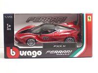 Bburago 36024 FERRARI FXX K - METAL 1:43 Race&Play