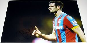 SCOTT DANN CRYSTAL PALACE PERSONALLY SIGNED 12X8 AUTOGRAPH PHOTO SOCCER